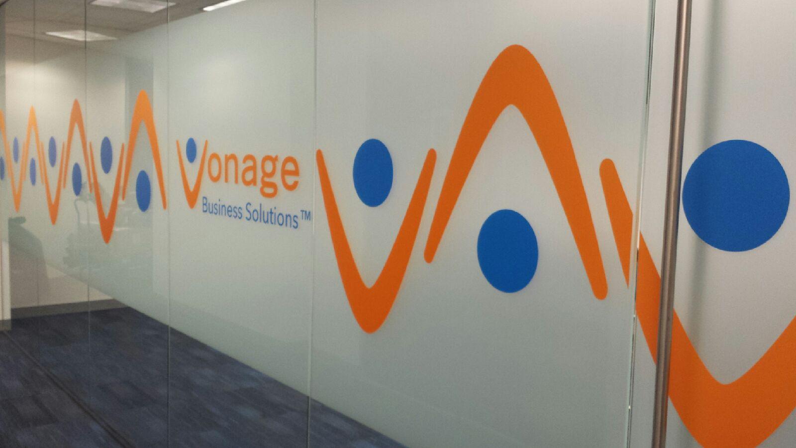 Vonage Business Solutions window film work