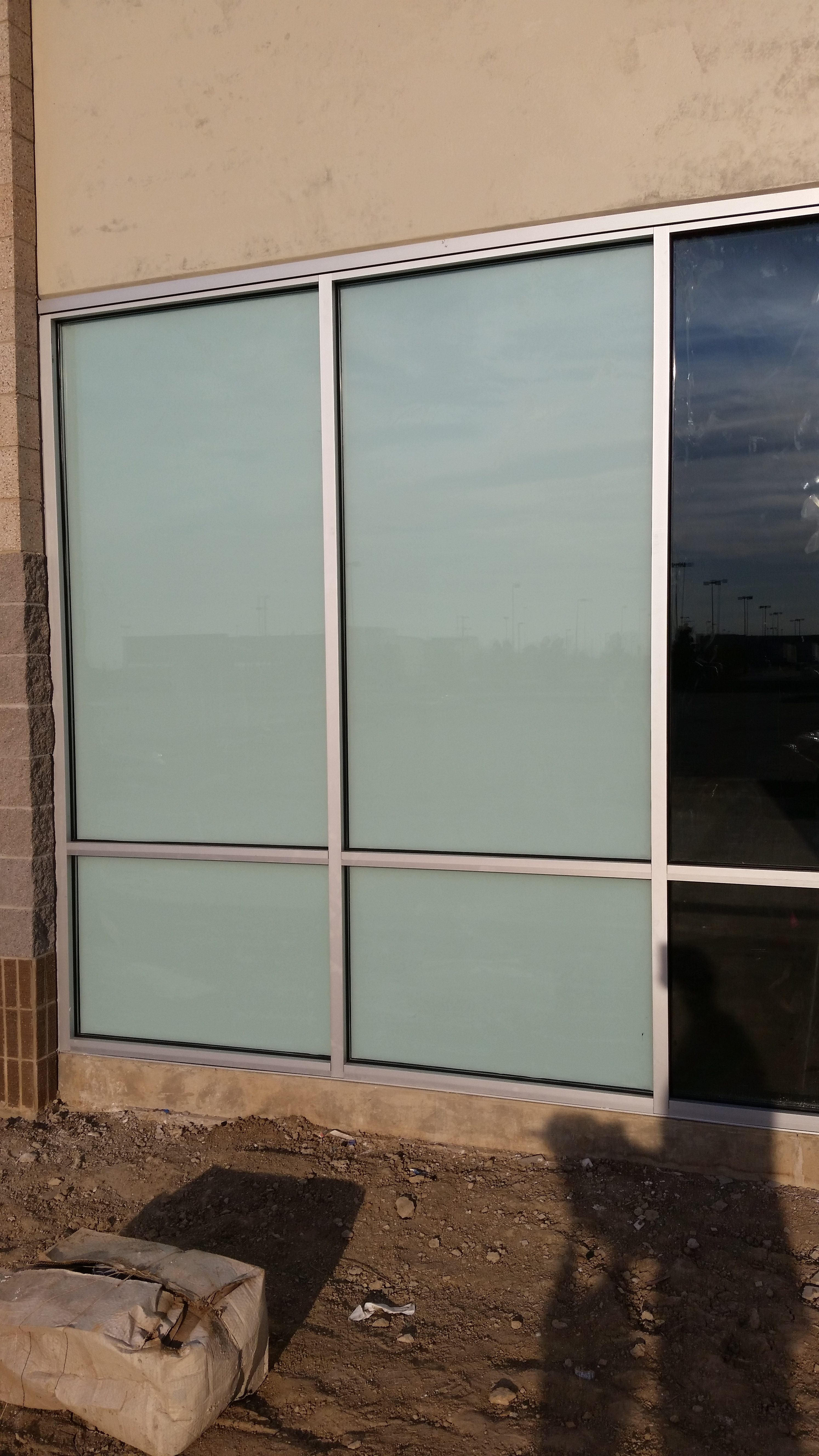 Window tinting for property